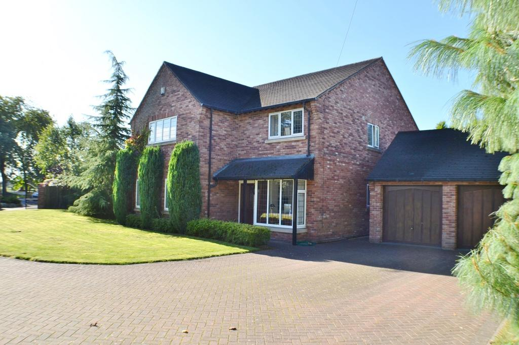 4 Bedrooms Detached House for sale in Knutsford Road, Cranage