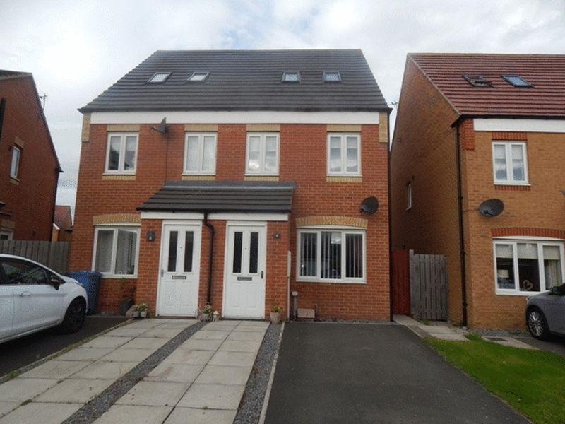 3 Bedrooms Town House for sale in Talisman Way, Blyth