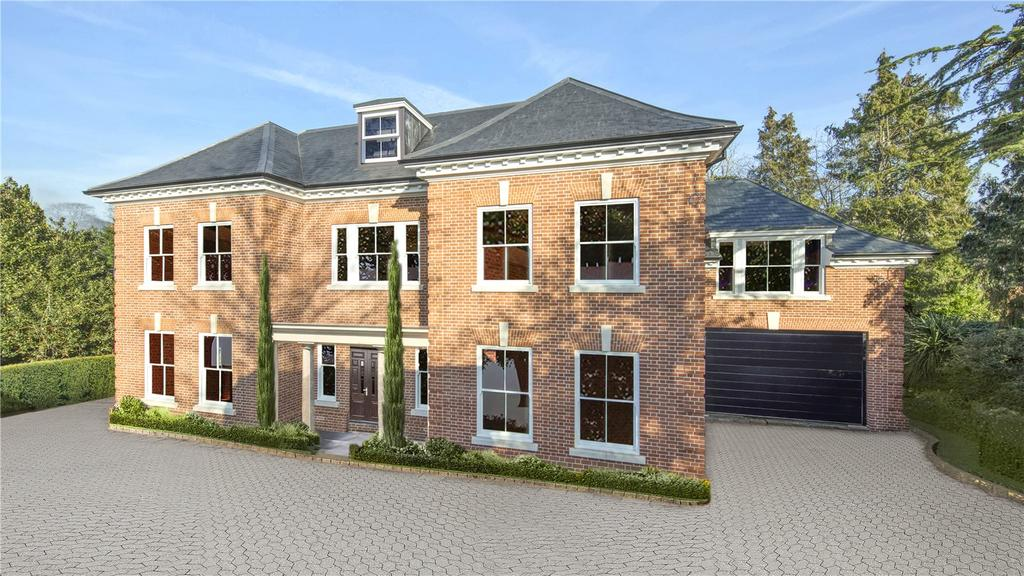 5 Bedrooms Detached House for sale in Fairmile Lane, Cobham, Surrey, KT11