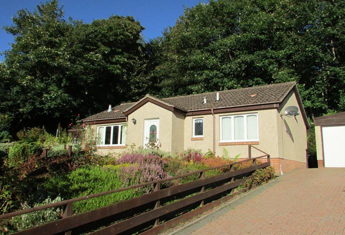 3 Bedrooms Bungalow for sale in 5 Katherines Court, Hawick, TD9 7JS