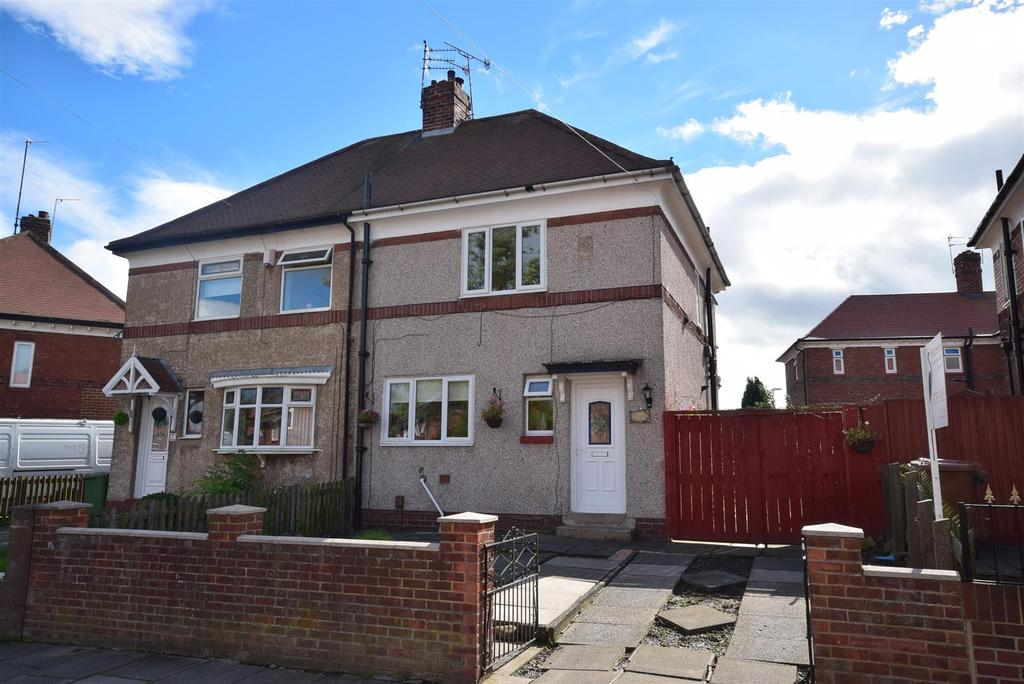2 Bedrooms Semi Detached House for sale in West Moor Road, Sunderland