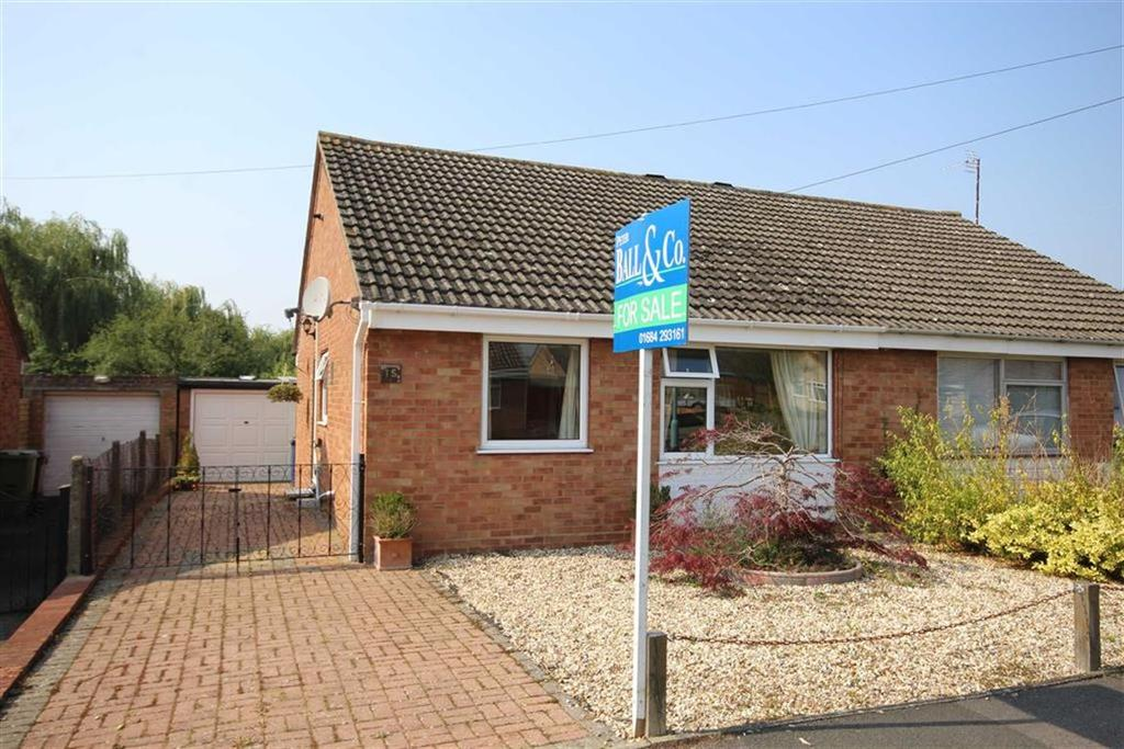 2 Bedrooms Semi Detached Bungalow for sale in Churchill Grove, Tewkesbury, Gloucestershire