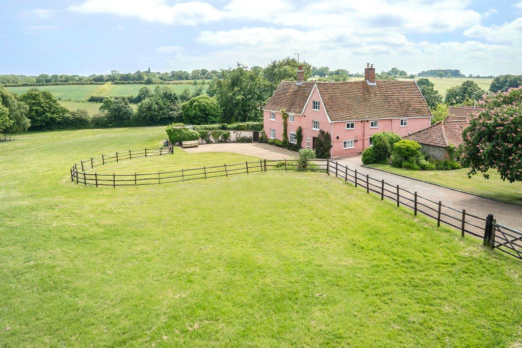 5 Bedrooms Detached House for sale in Chediston, Halesworth, Suffolk