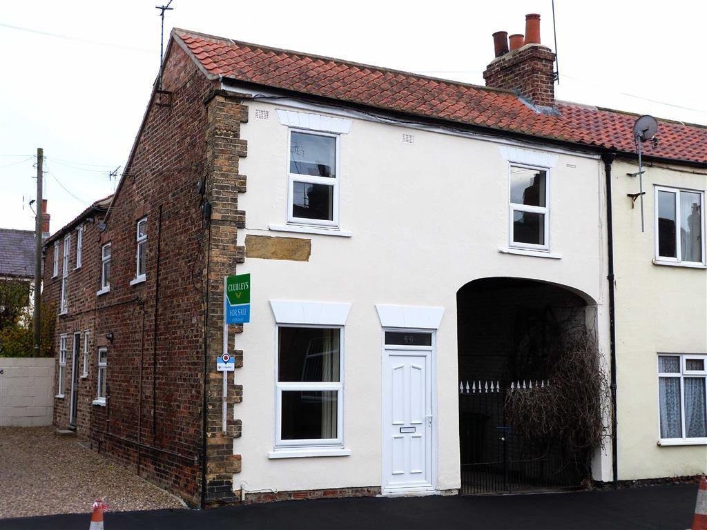 3 Bedrooms End Of Terrace House for sale in George Street, Pocklington
