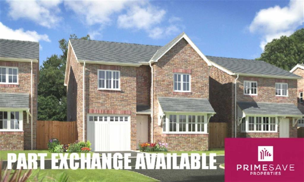 4 Bedrooms Detached House for sale in Plot 13, Oakwood Grange, Weston Road, Oswestry, Shropshire, SY10