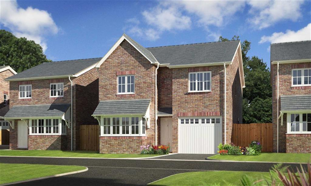 4 Bedrooms Detached House for sale in Plot 14, Oakwood Grange, Weston Road, Oswestry, Shropshire, SY10