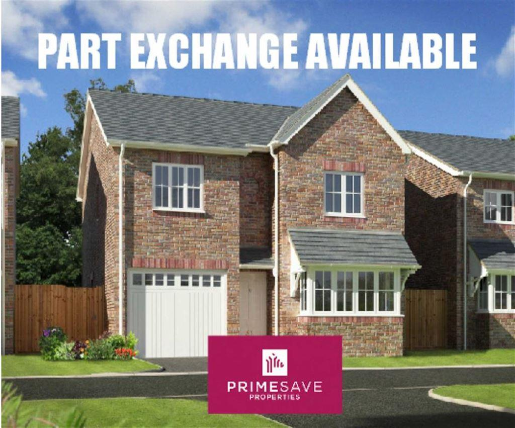 4 Bedrooms Detached House for sale in Plot 14, Oakwood Grange, Weston Road, Oswestry, Shropshire, SY10
