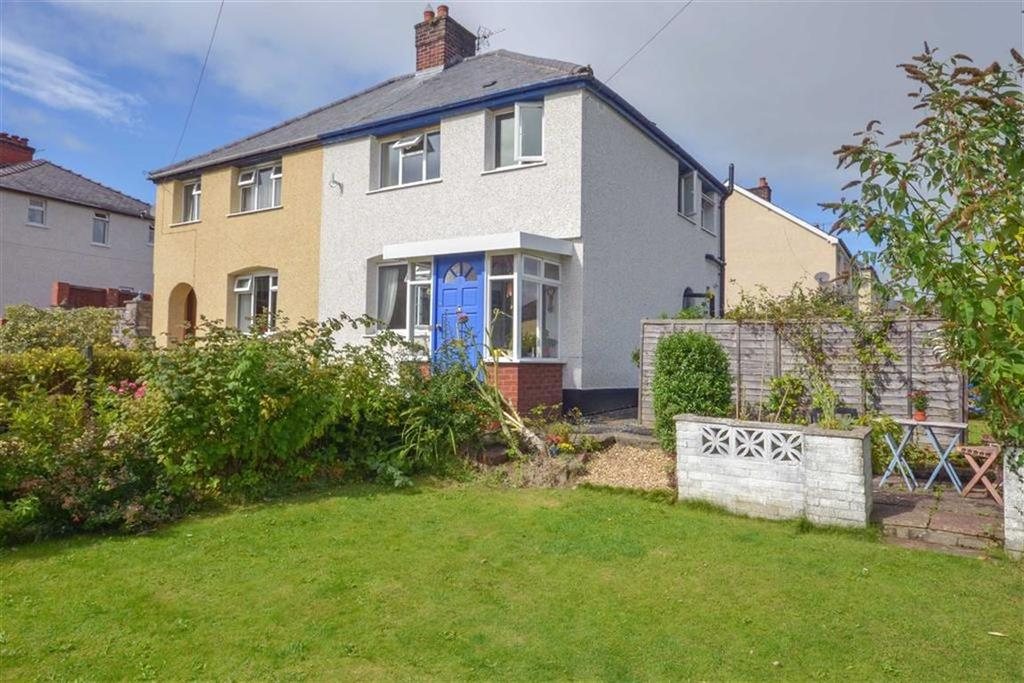 3 Bedrooms Semi Detached House for sale in Maesglas, Denbigh, Denbigh