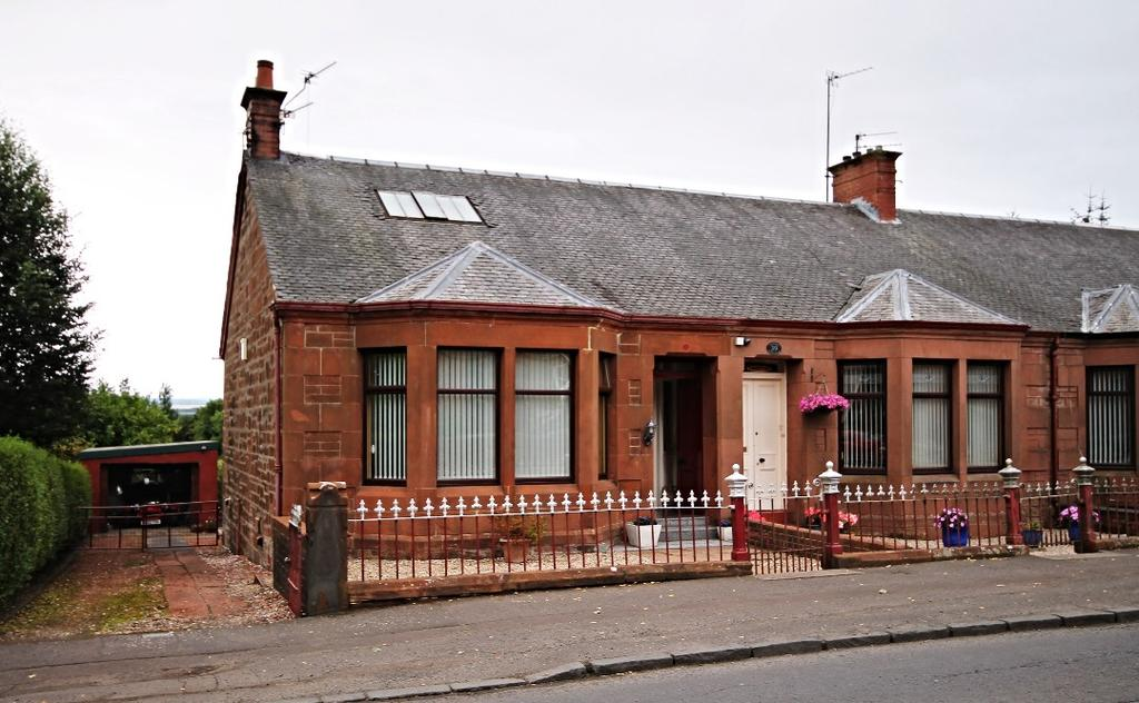 3 Bedrooms End Of Terrace House for sale in Mauchline Road, Auchinleck, Ayrshire, KA18 2BJ