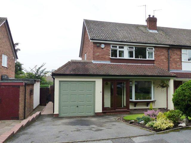 3 Bedrooms Semi Detached House for sale in Ambergate Close,Bloxwich,Walsall