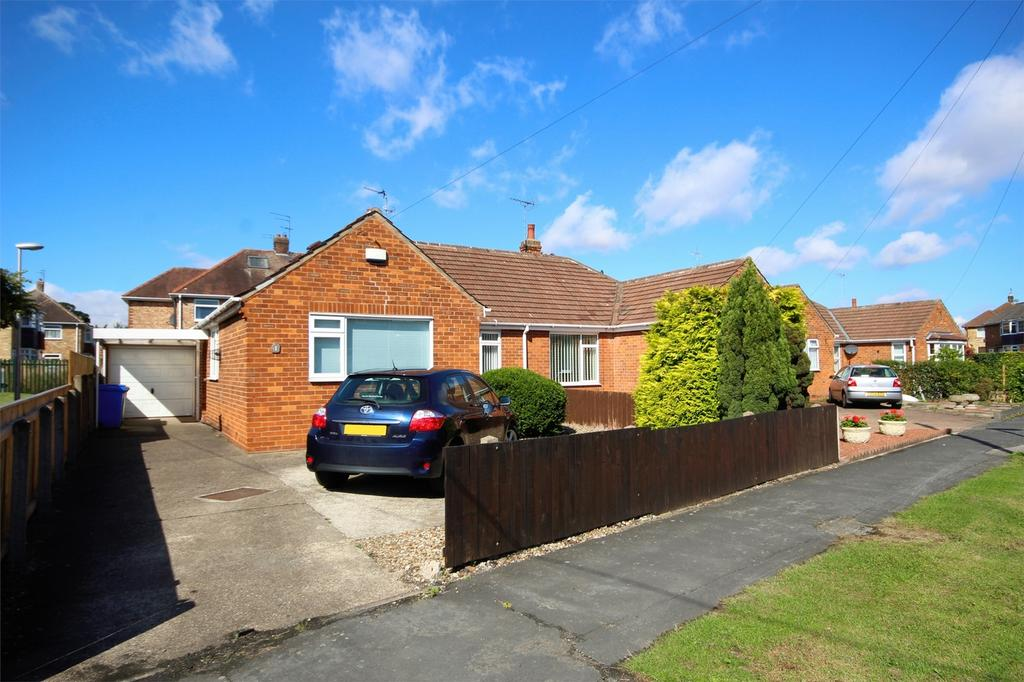 2 Bedrooms Semi Detached Bungalow for sale in Mill Beck Lane, Cottingham, East Riding of Yorkshire