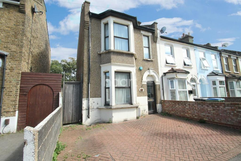 3 Bedrooms End Of Terrace House for sale in Woodhouse Road, Leytonstone