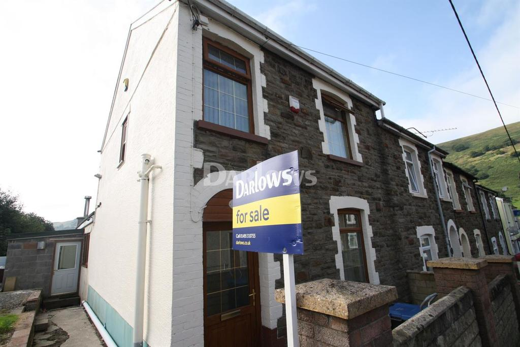 3 Bedrooms End Of Terrace House for sale in Henwain Street South, Blaina, Gwent