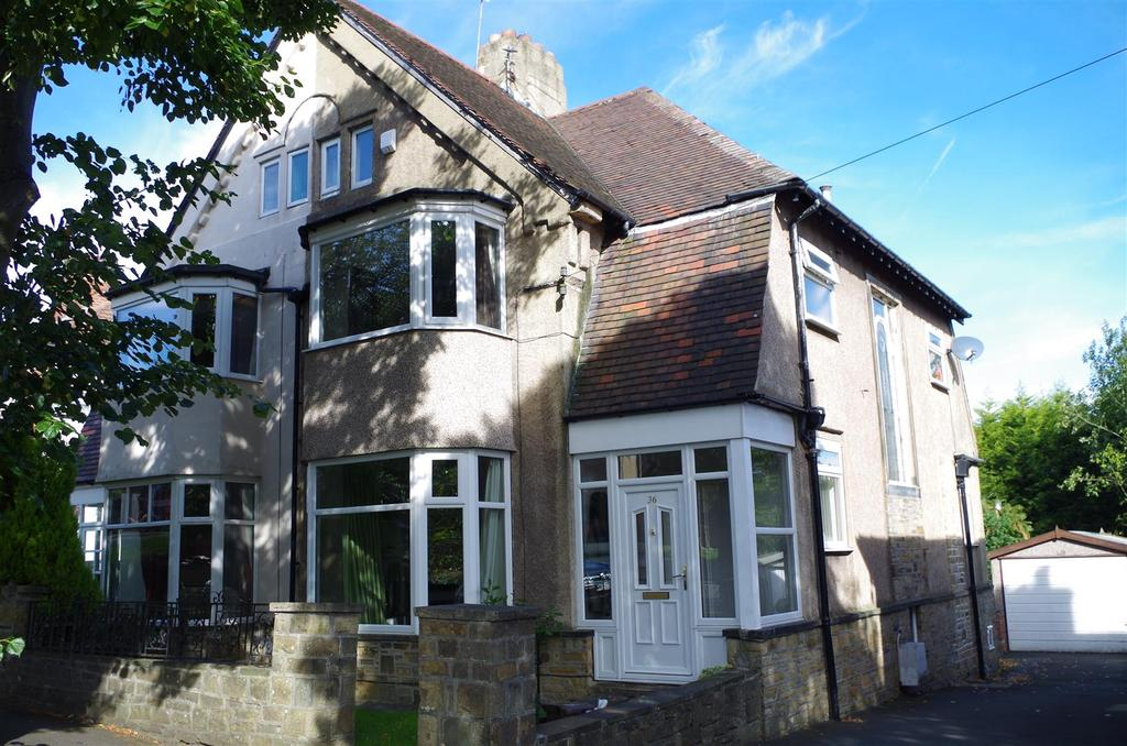 5 Bedrooms Semi Detached House for sale in The Gardens,, Heath Road, Halifax