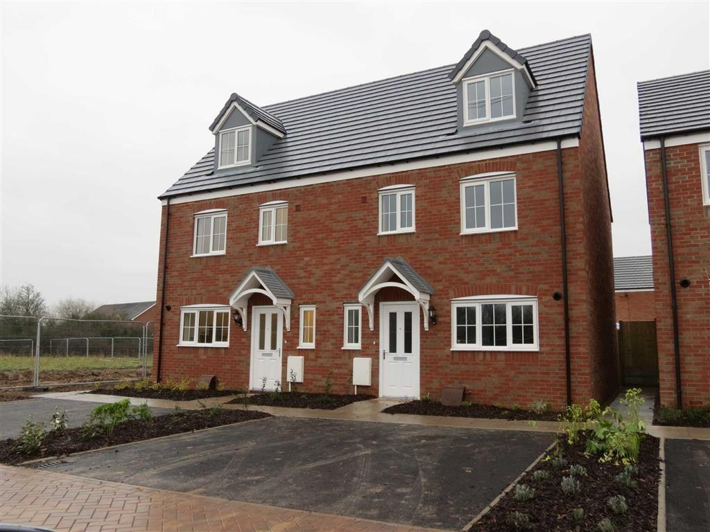 4 Bedrooms Semi Detached House for sale in 70 Rondel Street, Shrewsbury, Shropshire