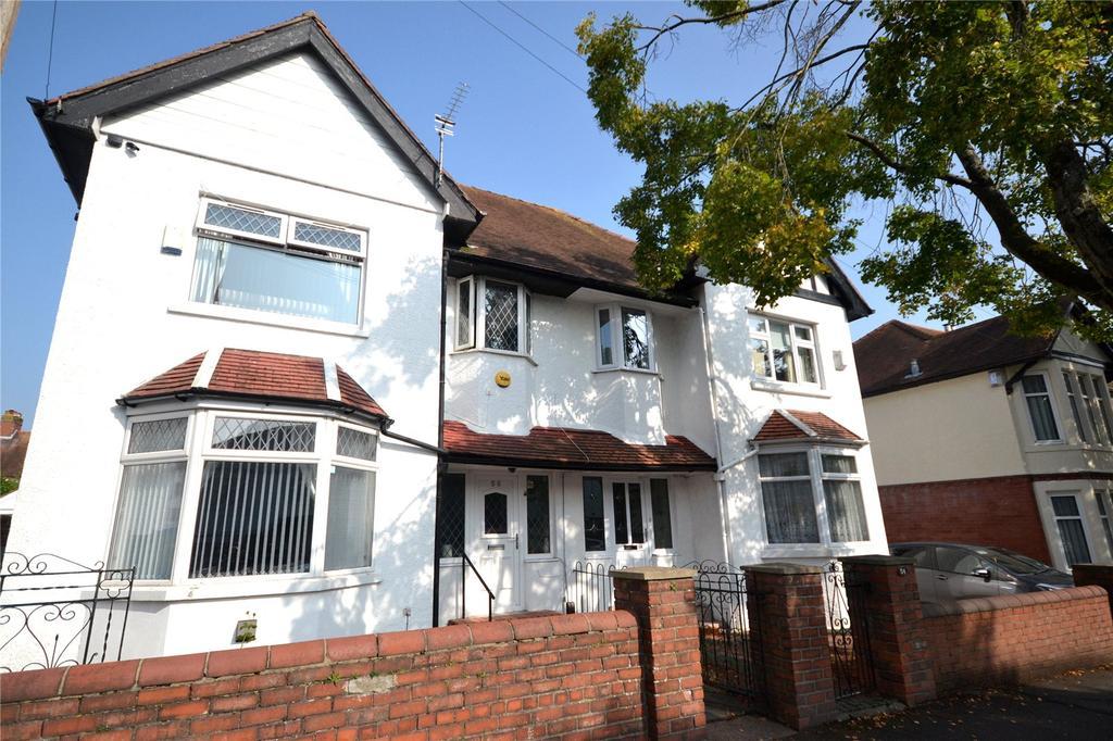4 Bedrooms Semi Detached House for sale in Waterloo Road, Penylan, Cardiff, CF23