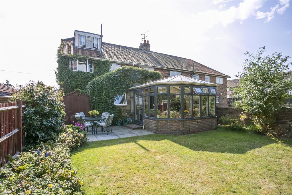 4 Bedrooms Semi Detached House for sale in Ryecroft Road, Otford, Sevenoaks, Kent