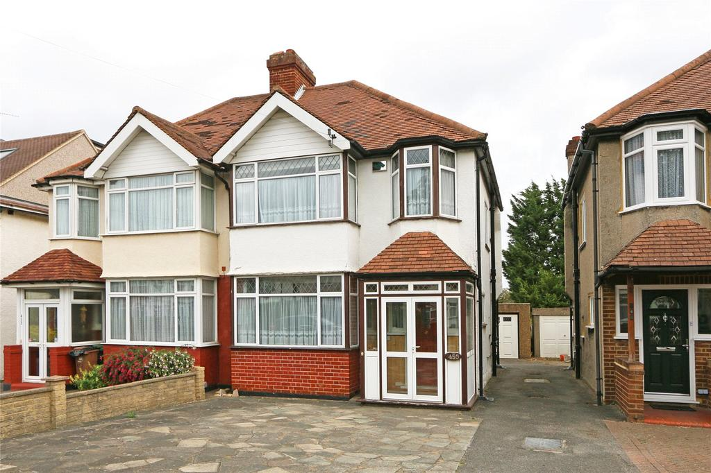 3 Bedrooms Semi Detached House for sale in Sutton Common Road, Sutton, SM3