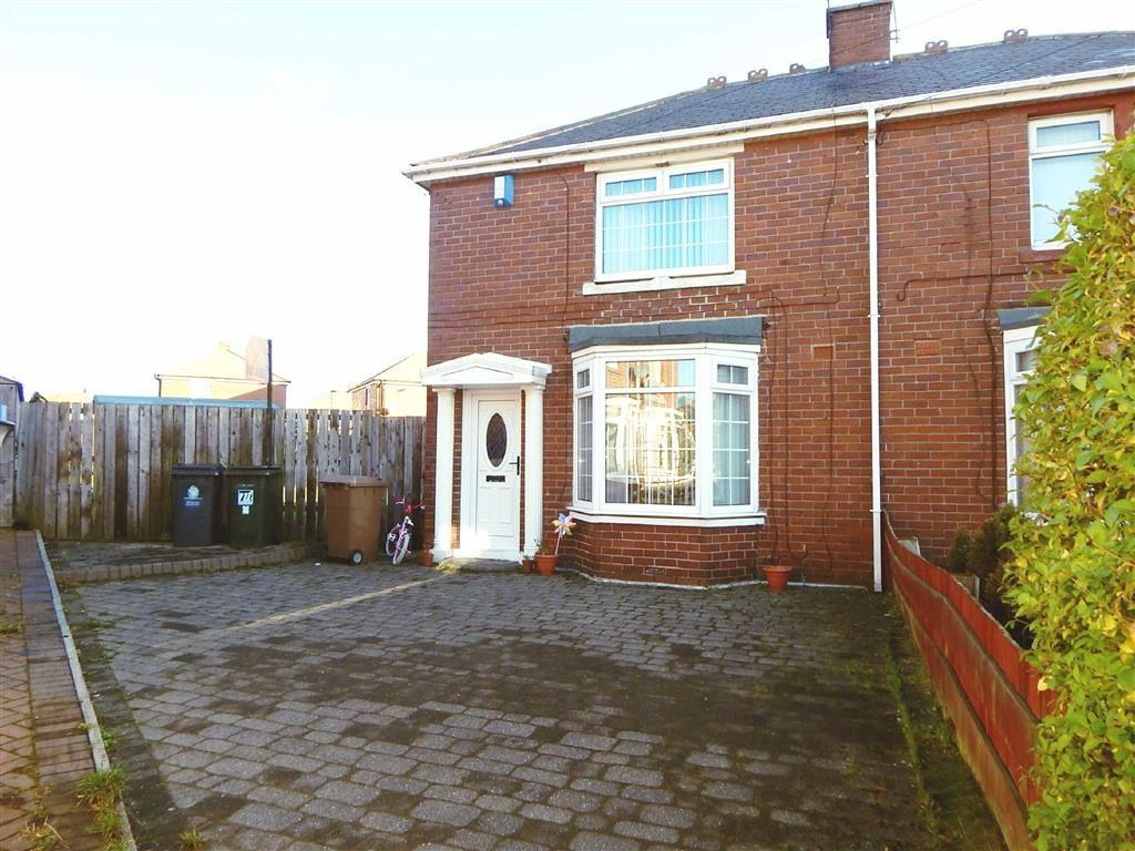 2 Bedrooms Semi Detached House for sale in Churcher Gardens, Wallsend, Tyne And Wear, NE28