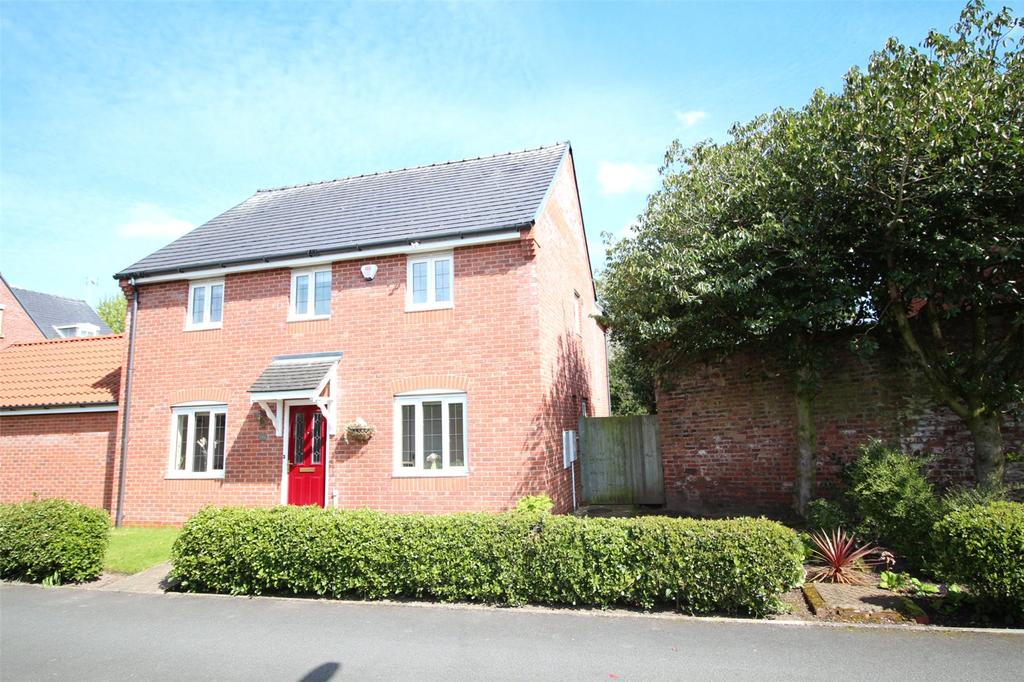 4 Bedrooms Detached House for sale in Acton Hall Walks, Wrexham, LL12