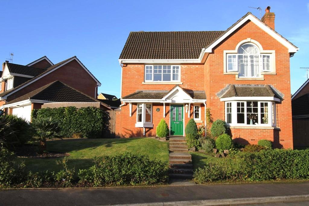 4 Bedrooms Detached House for sale in Drovers Way, Radyr