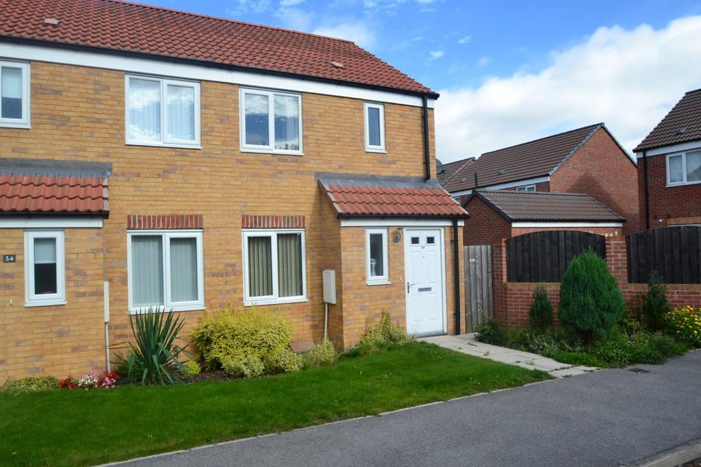 2 Bedrooms Semi Detached House for sale in NORTHFIELD LANE, SOUTH KIRKBY, PONTEFRACT