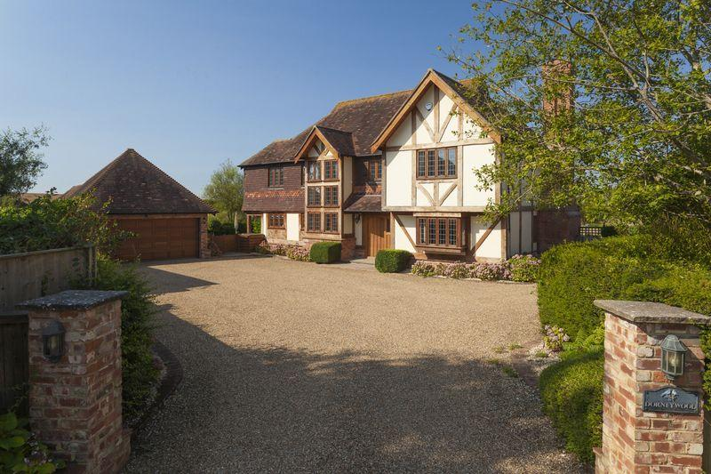 4 Bedrooms Detached House for sale in Postling, Near Hythe