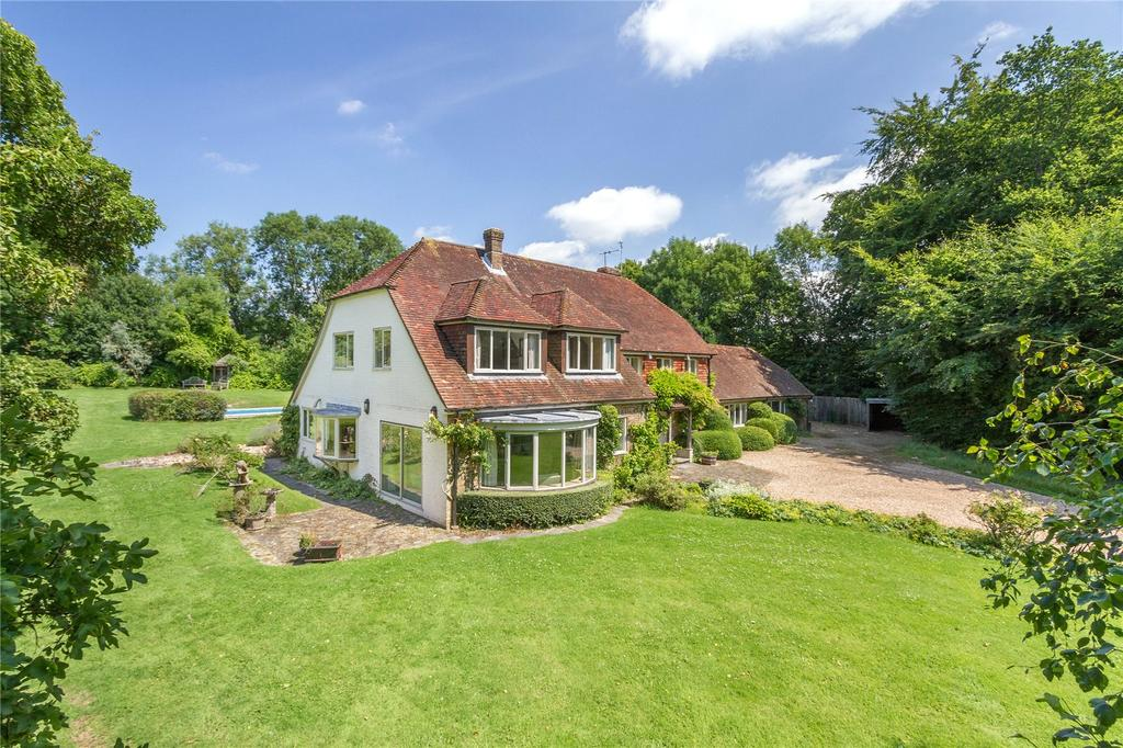 5 Bedrooms Detached House for sale in Treyford, Midhurst, West Sussex, GU29