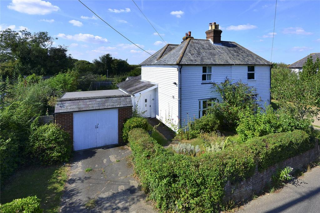 2 Bedrooms Semi Detached House for sale in The Street, Bossingham, Canterbury, Kent, CT4