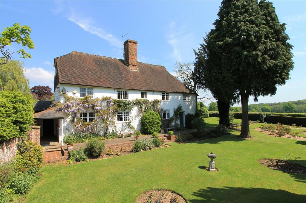 5 Bedrooms Detached House for sale in Claygate Lane, Shipbourne, Tonbridge, Kent, TN11