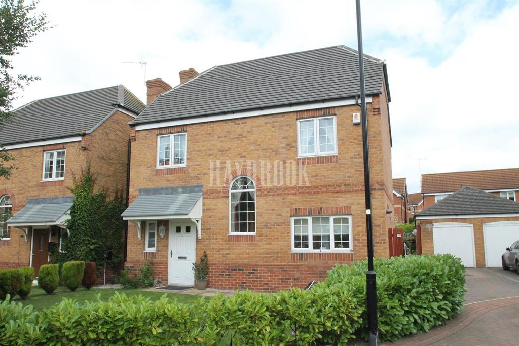 4 Bedrooms Detached House for sale in Davy Drive, Woodlaithes Village
