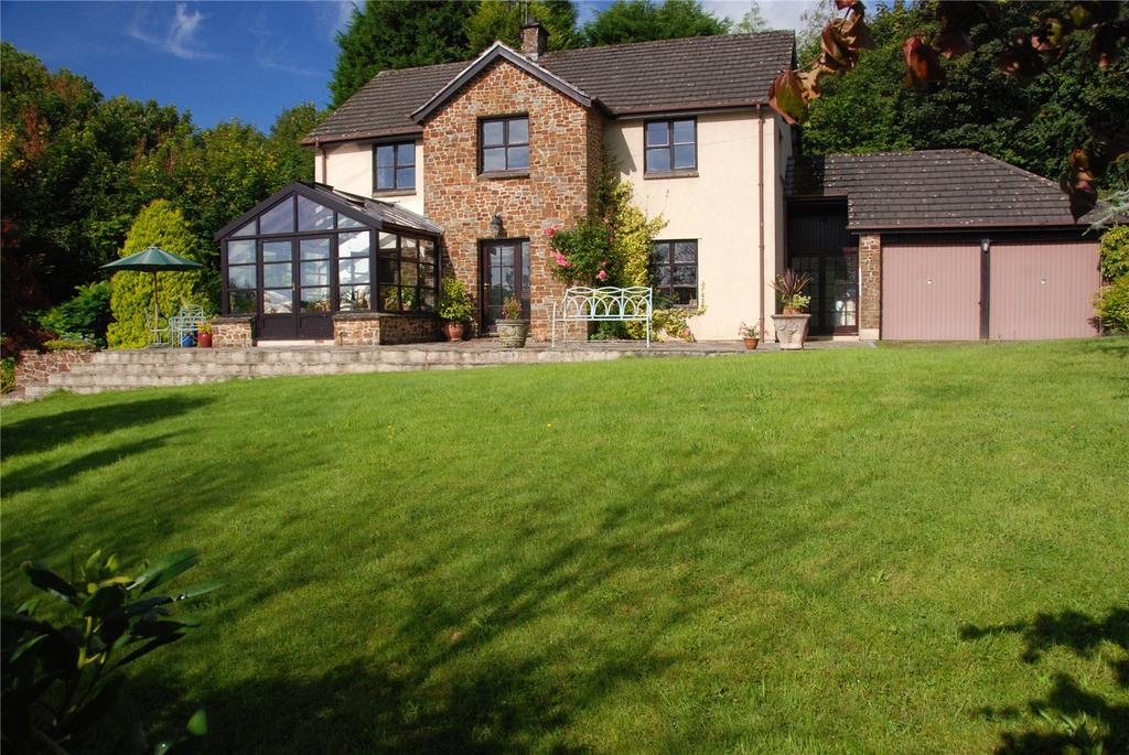 4 Bedrooms Detached House for sale in Germansweek, Devon, EX21