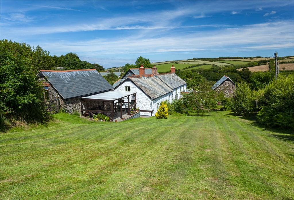 4 Bedrooms Equestrian Facility Character Property for sale in Ilkerton, Barbrook, Lynton, Devon, EX35