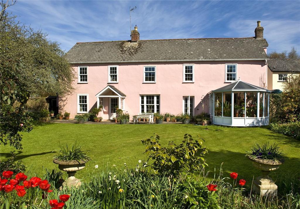 5 Bedrooms Detached House for sale in Cheriton Fitzpaine, Crediton, Devon, EX17
