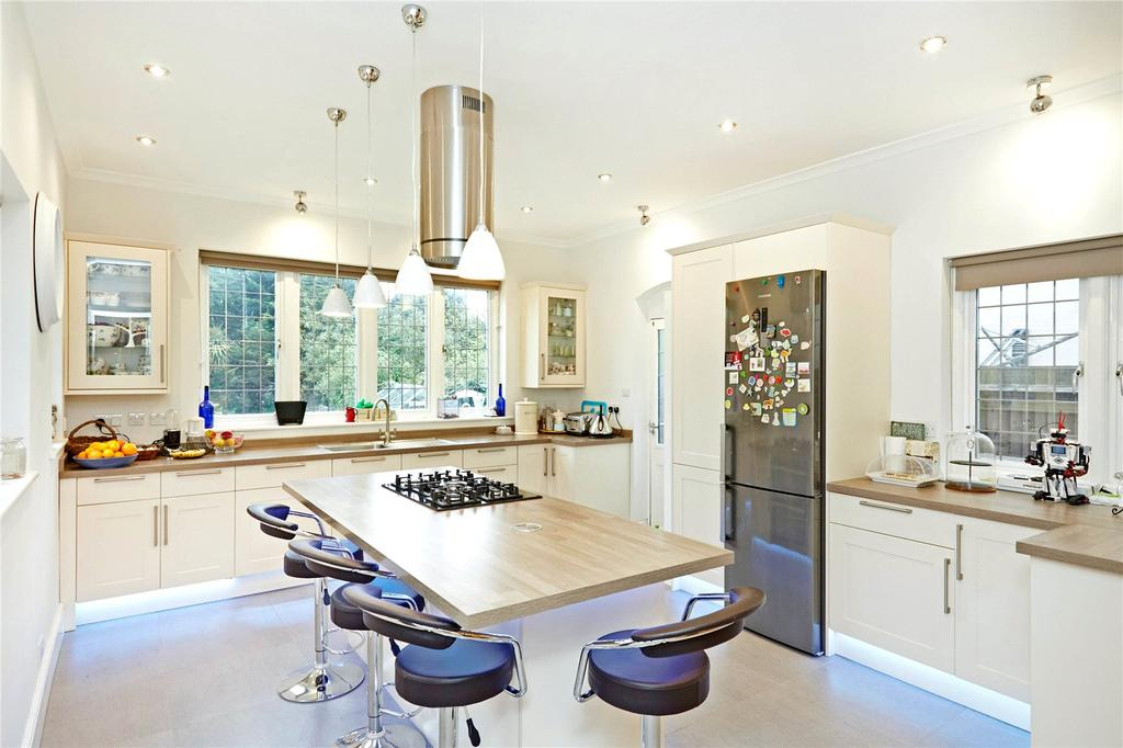 6 Bedrooms Semi Detached House for sale in Cranes Drive, Surbiton, Surrey, KT5