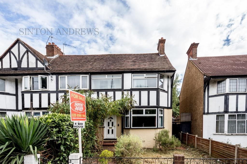 4 Bedrooms House for sale in 208, Gunnersbury Avenue, Acton, W3