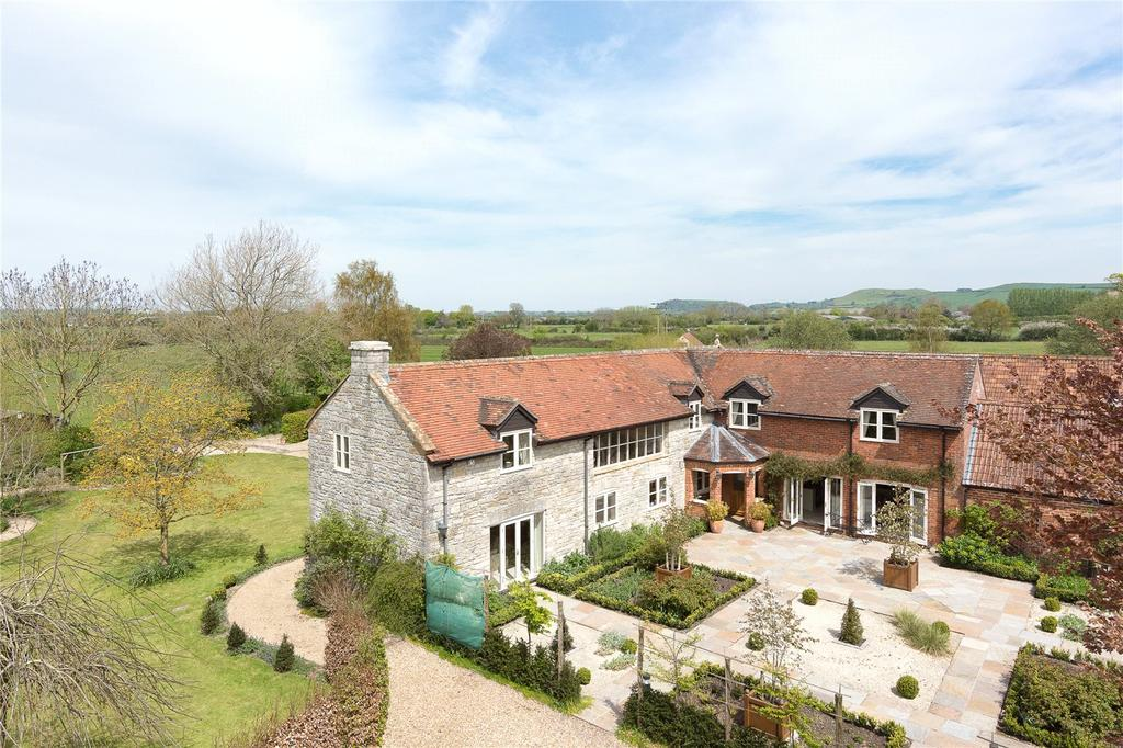 5 Bedrooms Barn Conversion Character Property for sale in Park Farm, Marston Magna, Yeovil, Somerset, BA22