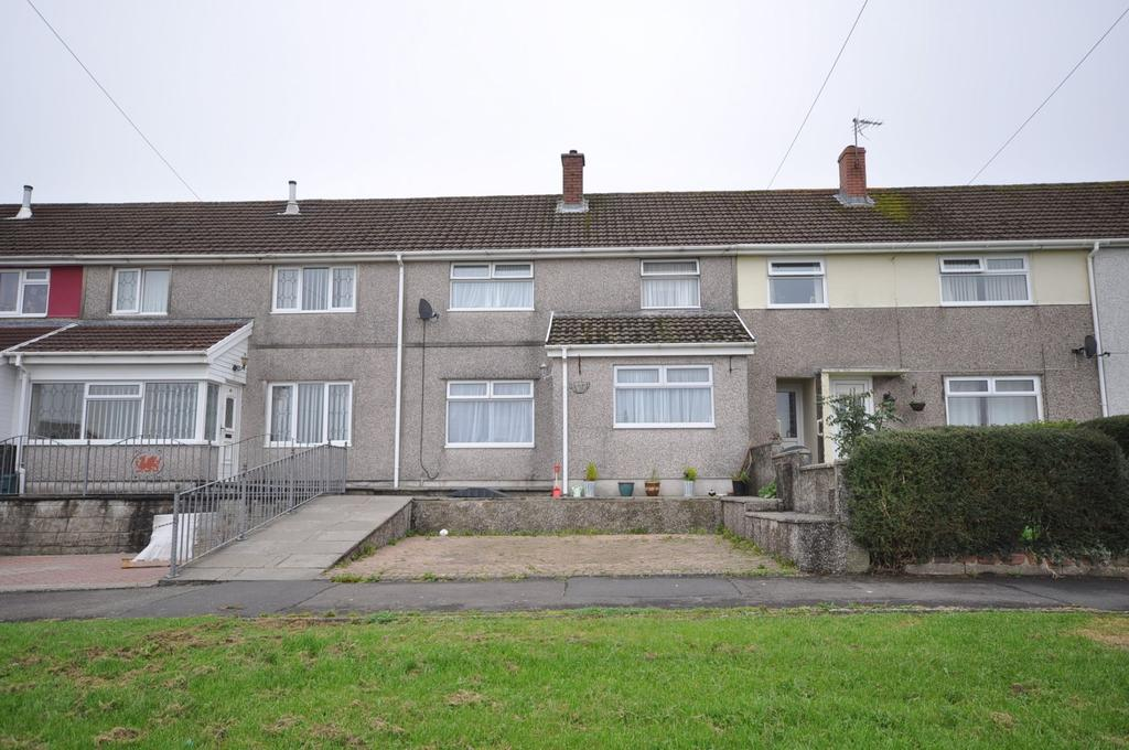 3 Bedrooms Terraced House for sale in 82 Russell Terrace, Carmarthen SA31 1SZ