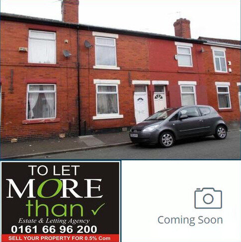 2 bedroom terraced house to rent - Markington St, Rusholme, Manchester M14