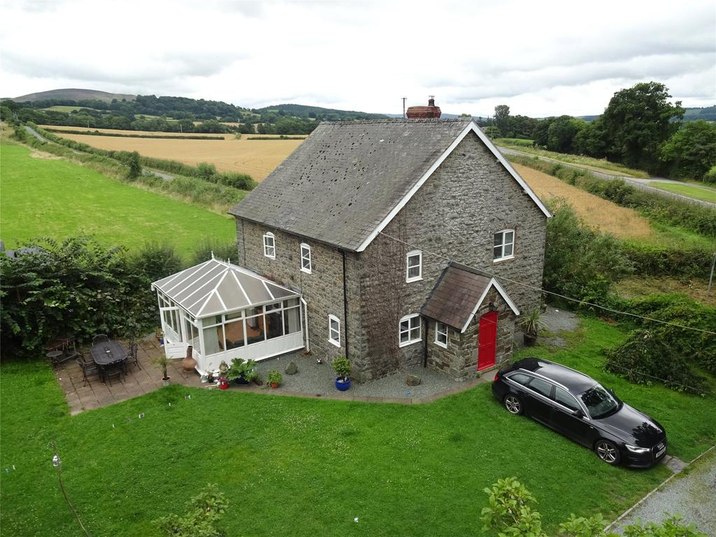 4 Bedrooms Detached House for sale in Hyssington, Montgomery, Powys