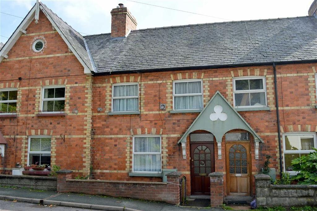 3 Bedrooms Terraced House for sale in 21, Dysart Terrace, Canal Road, Newtown, Powys, SY16