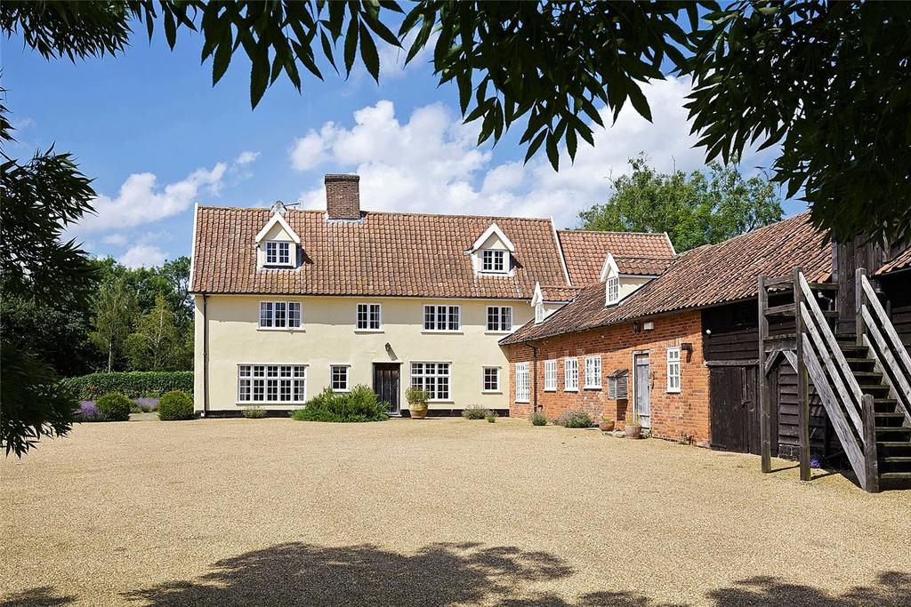 7 Bedrooms Equestrian Facility Character Property for sale in Middle Road, Earsham, Bungay