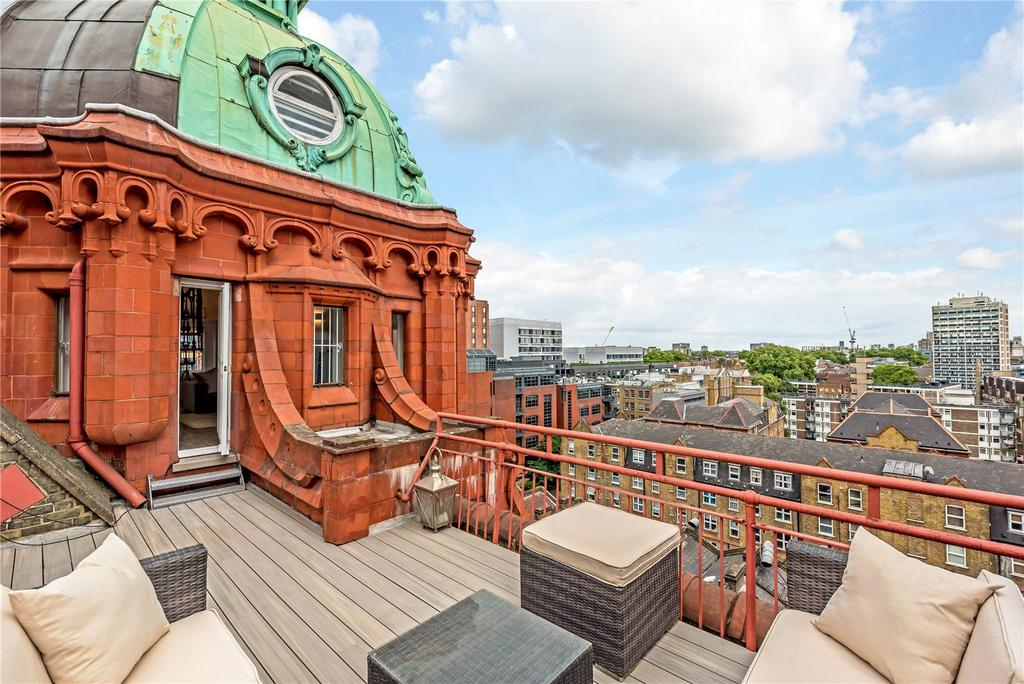 3 Bedrooms Penthouse Flat for sale in City Road, Old Street, Shoreditch, London, EC1V