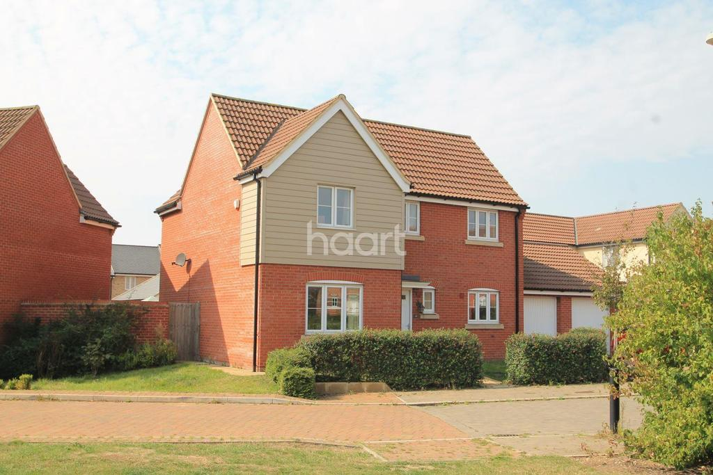4 Bedrooms Detached House for sale in Hull Way, St Neots