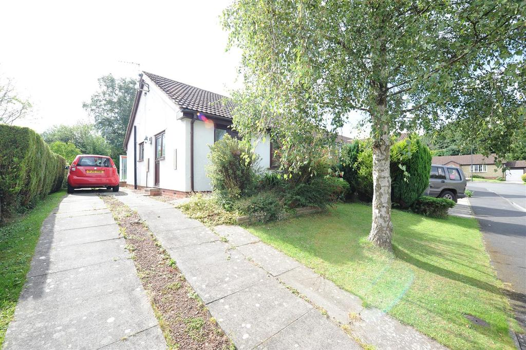 2 Bedrooms Semi Detached Bungalow for sale in Falcon Close, Scotton, Catterick Garrison