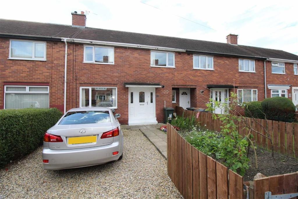 3 Bedrooms Terraced House for sale in Matfen Gardens, Wallsend, NE28