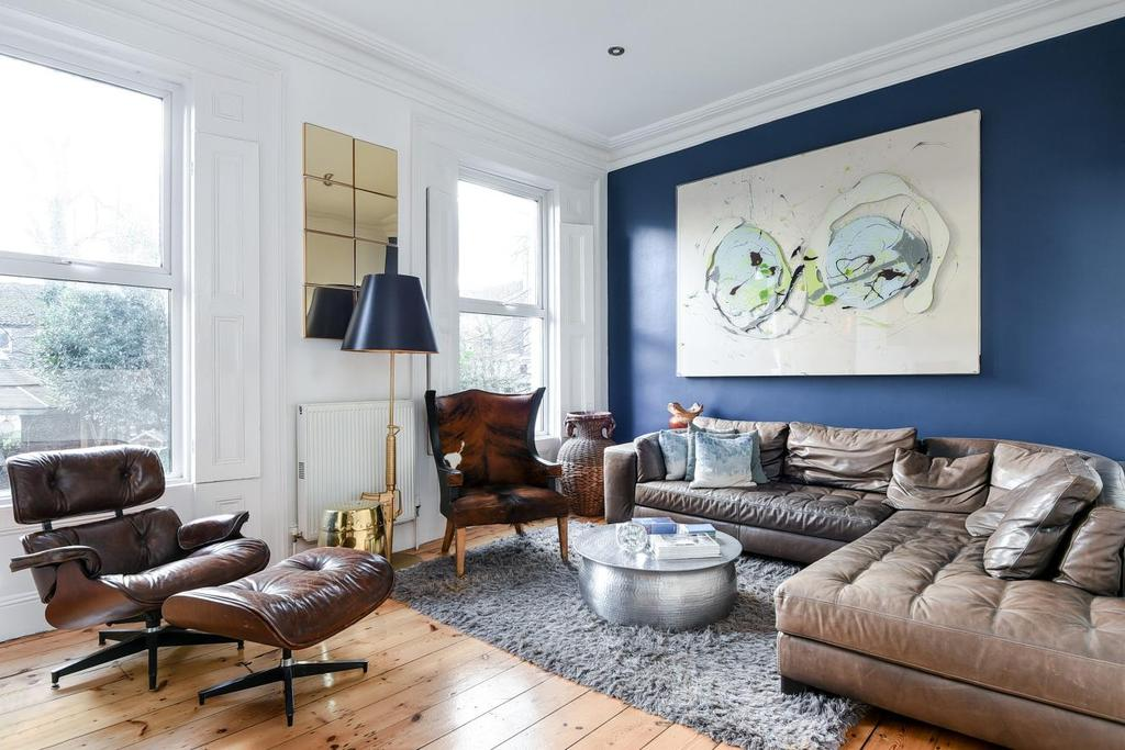 2 Bedrooms Maisonette Flat for sale in Burnley Road, Stockwell, SW9