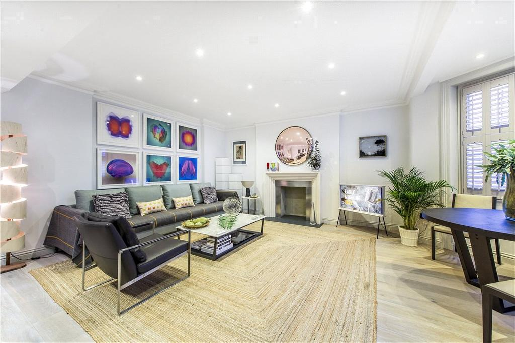 2 Bedrooms Flat for sale in Beaufort Gardens, Knightsbridge, London, SW3