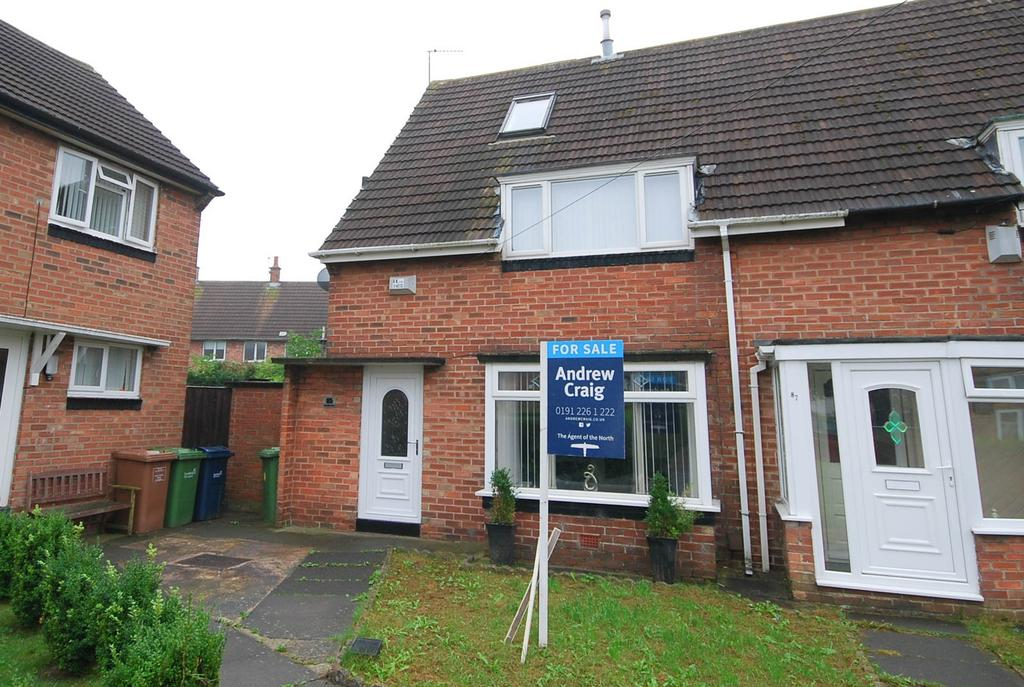 2 Bedrooms Semi Detached House for sale in Clovelly Road, Hylton Castle