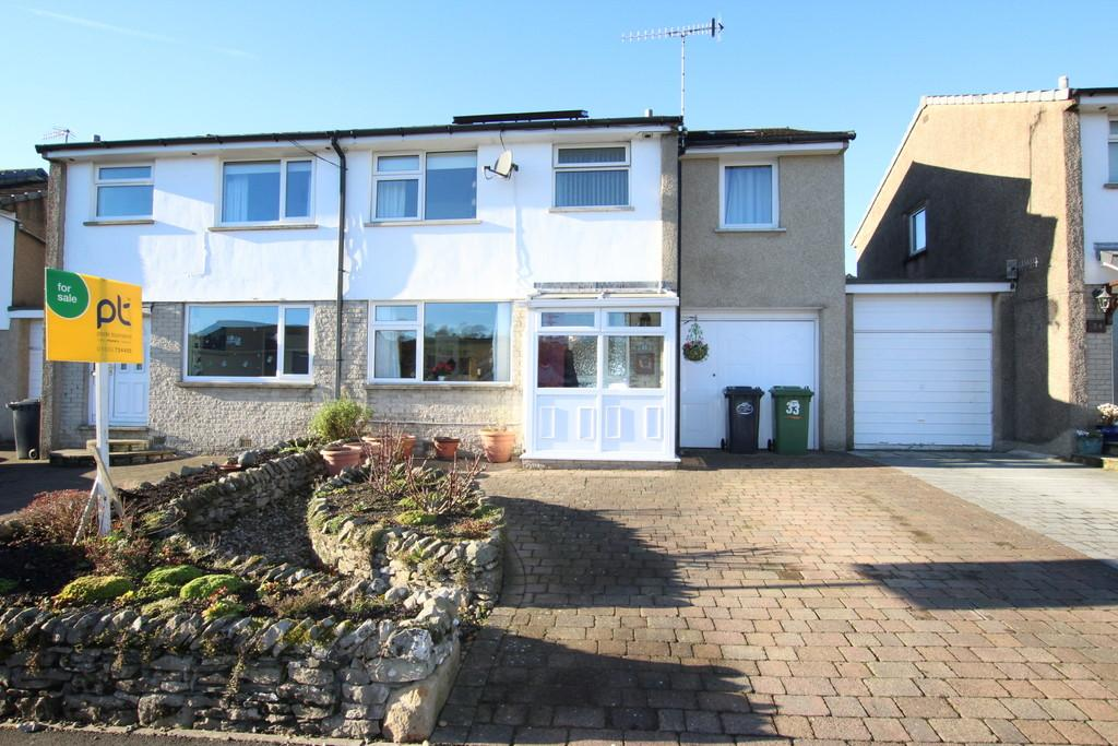 4 Bedrooms Semi Detached House for sale in 33 Mayfield Drive, Kendal. LA9 7NS